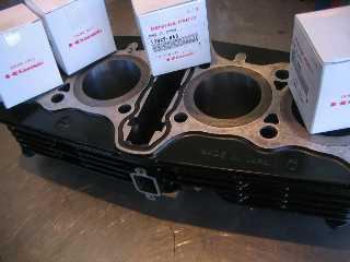 空冷マルチエンジン ボーリングO/H