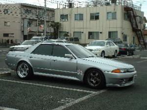 スカイラインR32改